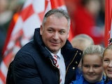 Sunderland owner Stewart Donald pictured on November 17, 2018