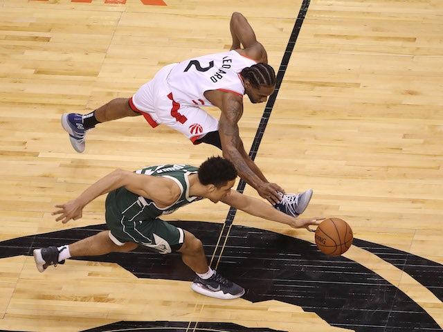 Result: Leonard helps Toronto take game three against Milwaukee