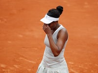 Venus Williams pictured at the French Open on May 26, 2019
