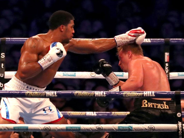 Dillian Whyte, Alexander Povetkin to meet in Manchester in May