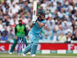 England's Ben Stokes in action during the Cricket World Cup match against South Africa on May 30, 2019