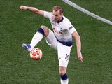 Harry Kane in action during the Champions League final on June 1, 2019
