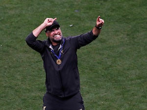Jurgen Klopp celebrates winning the Champions League with Liverpool on June 1, 2019