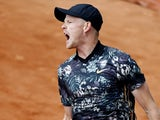Kyle Edmund at the French Open on May 28, 2019