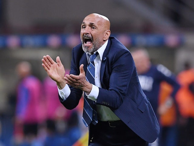 Inter Milan manager Luciano Spalletti pictured on May 26, 2019