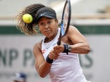 Naomi Osaka in action at the French Open on May 28, 2019