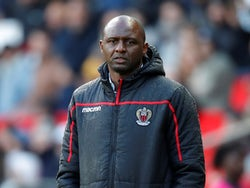 Patrick Vieira pictured in charge of Nice in May 2019