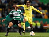 Villarreal's Samuel Chukwueze in action in February 2019