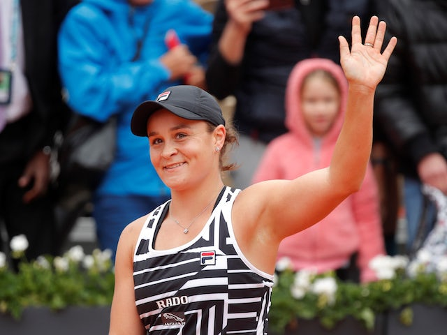 Ashleigh Barty wants to become the best in the world
