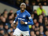 Manchester City defender Eliaquim Mangala pictured during his loan spell with Everton in February 2018