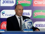 Fabian Coito is unveiled as Honduras manager in February 2019.
