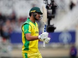 Nathan Coulter-Nile walks off at the Cricket World Cup on June 6, 2019