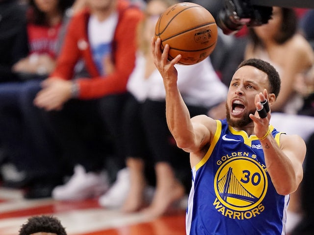 Result: Golden State Warriors take game two against Toronto