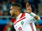 Leganes forward Youssef En-Nesyri in action for Morocco at the 2018 World Cup