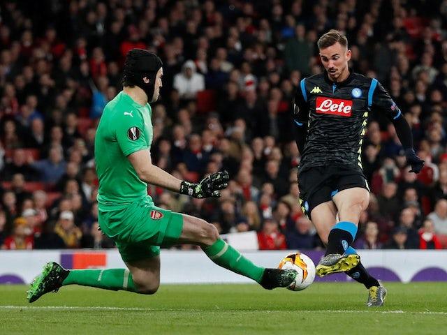 Barcelona 'send Eric Abidal to watch Fabian Ruiz'