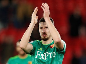 Watford without Cathcart for Arsenal clash