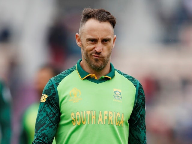 Faf Du Plessis hits out at