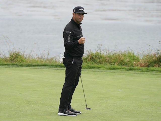 Rhys Enoch impresses at Pebble Beach, Gary Woodland still leads