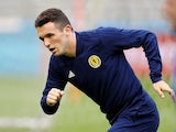John McGinn pictured for Scotland in June 2019
