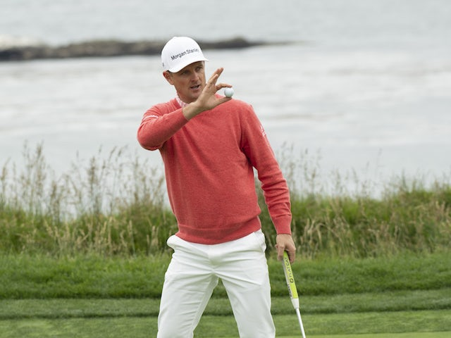 Justin Rose claims early birdie in US Open second round