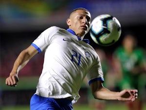 Richarlison in action for Brazil on June 15, 2019
