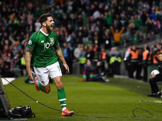 Ireland midfielder Robbie Brady: