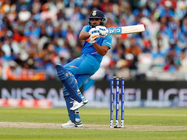 Rohit Sharma's fine 140 for India leaves Pakistan needing record chase