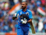 India batsman Shikhar Dhawan pictured on June 9, 2019