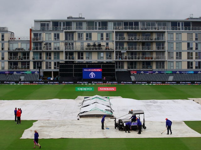 Third World Cup match abandoned as Sri Lanka vs. Bangladesh is washed out