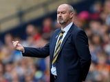Steve Clarke pictured in charge of Scotland on June 8, 2019