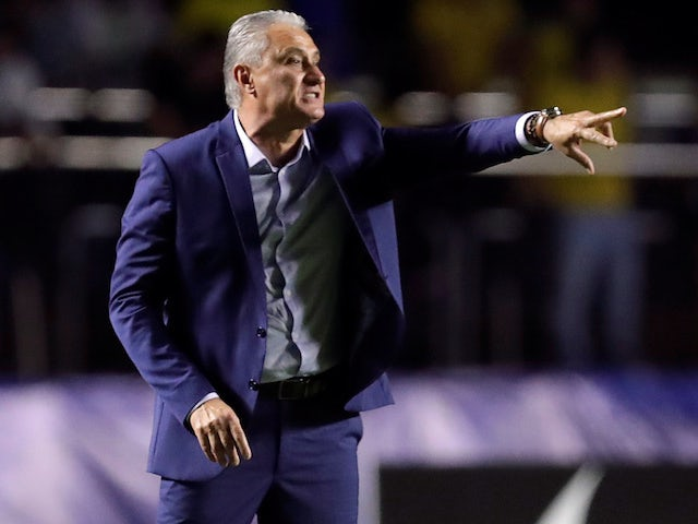 Brazil coach Tite pictured on June 15, 2019