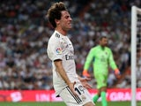 Real Madrid's Alvaro Odriozola pictured in September 2018
