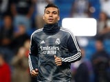 Casemiro pictured for Real Madrid on March 2019