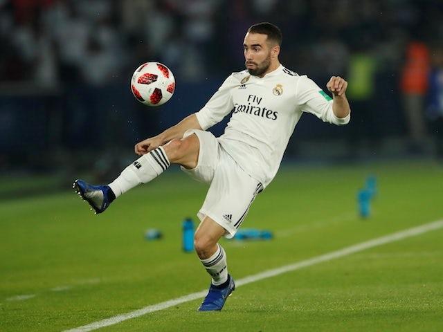 Real Madrid defender Dani Carvajal pictured in December 2018