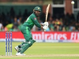 Pakistan's Haris Sohail in action against South Africa on June 23, 2019