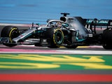 Lewis Hamilton in action during French GP practice on June 21, 2019