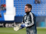 Luca Zidane pictured for Real Madrid in April 2019