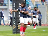 France centre Mathieu Bastareaud pictured in March 2019