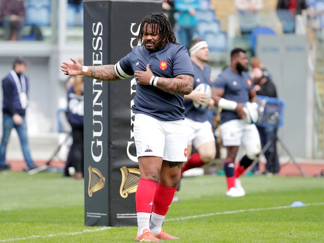 Mathieu Bastareaud left out of France World Cup warm-up squad