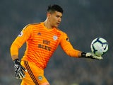 Neil Etheridge in action for Cardiff City on April 16, 2019