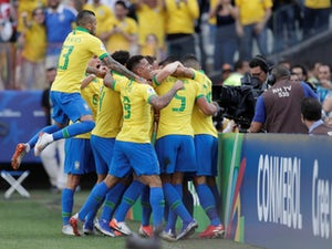 Brazil crush Peru to progress as group winners