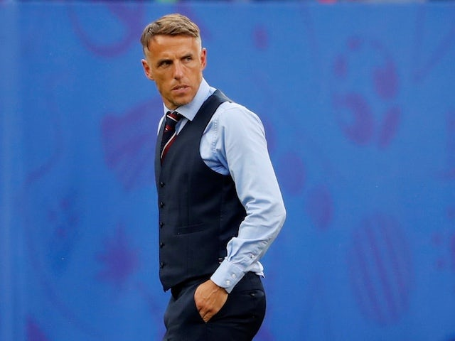 Phil Neville: 'England relaxed ahead of World Cup quarter-final'