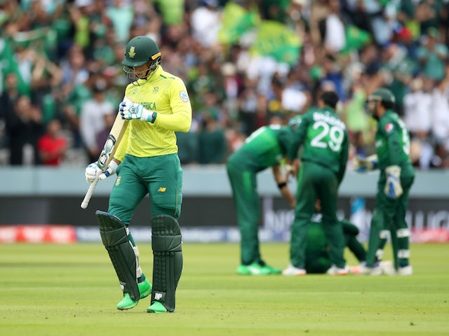 Result: South Africa crash out of World Cup with Pakistan defeat