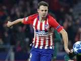 Santiago Arias in action for Atletico Madrid on November 28, 2018