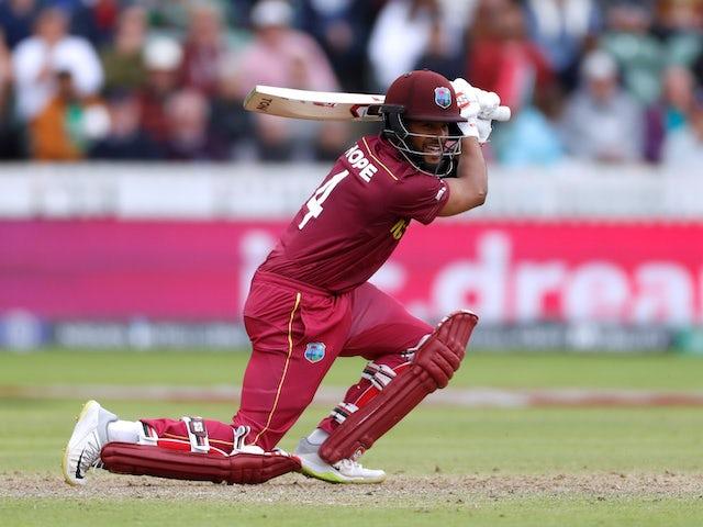 Hope stars as West Indies set 321 against Bangladesh