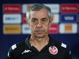 Tunisia head coach Alain Giresse pictured on June 24, 2019