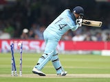 England batsman James Vince is bowled against Australia on June 25, 2019