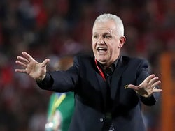 Javier Aguirre in charge of Egypt on June 21, 2019