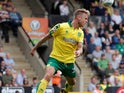 Marcel Franke in action for Norwich City in August 2017