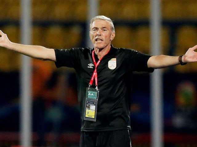 Benin coach Michel Dussuyer pictured on June 25, 2019